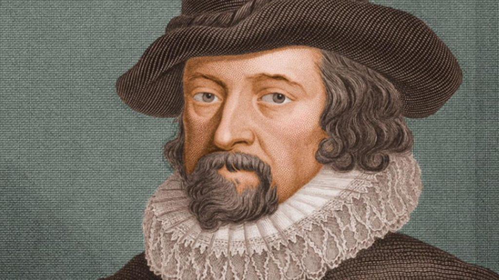 Filósofo do empirismo - Francis Bacon