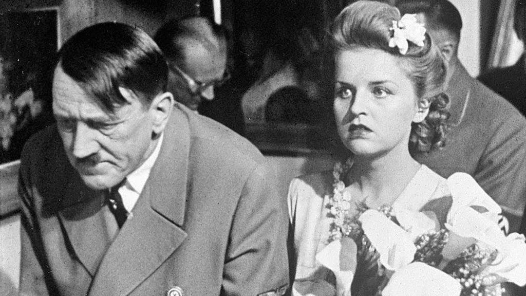 Eva Braun e Hitler
