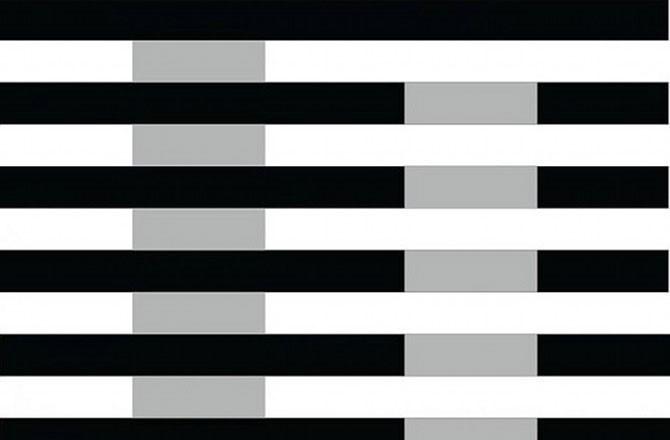 As duas colunas verticais parecem ter cores diferentes