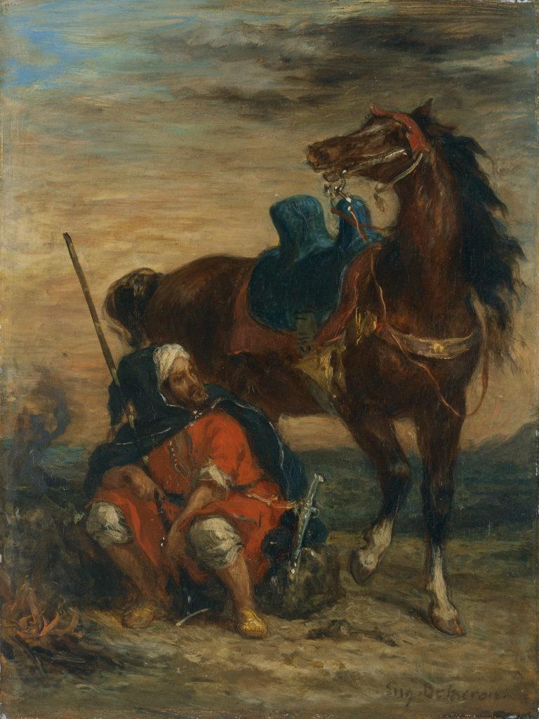 O jinete árabe (1854)