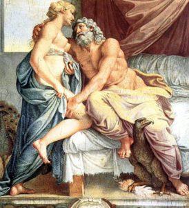 Juno e Júpiter -Deuses da mitologia romana