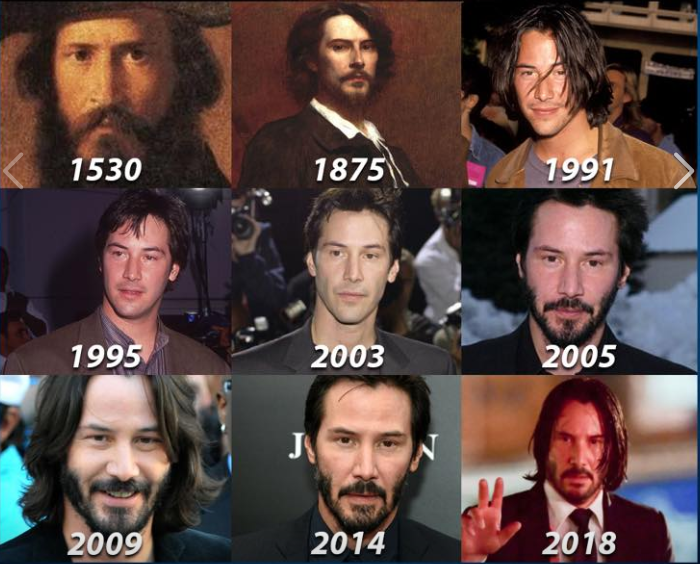 Keanu Reeves é imortal
