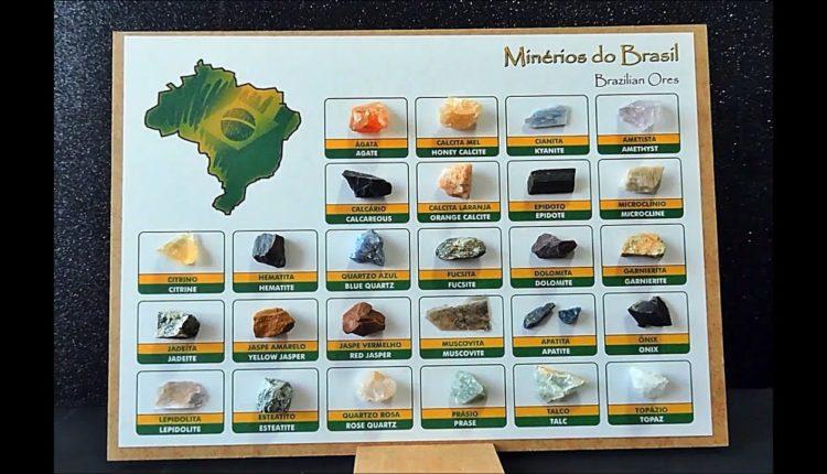 minérios do Brasil