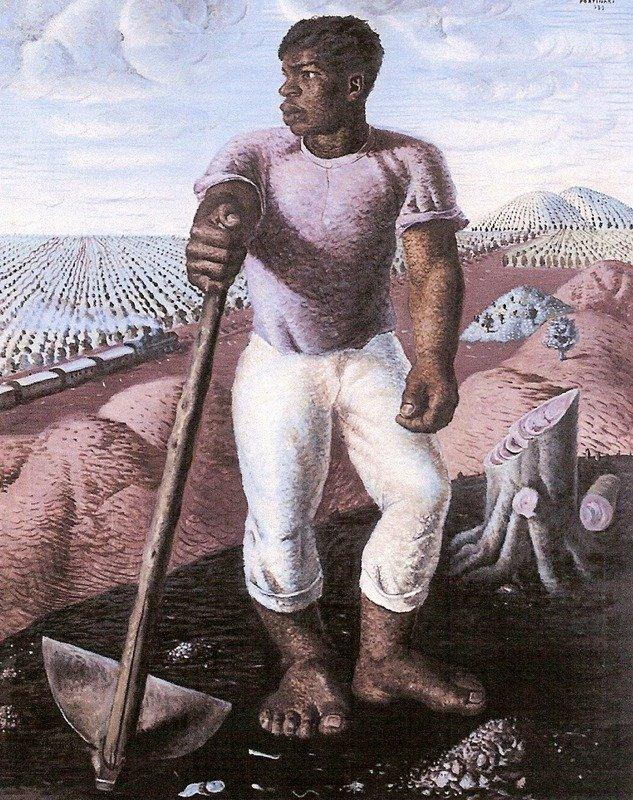 O lavrador de café - Portinari