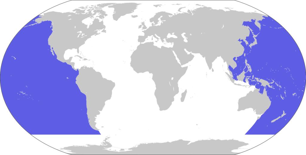 Oceano Pacífico - localização, características, curiosidades e fenômenos