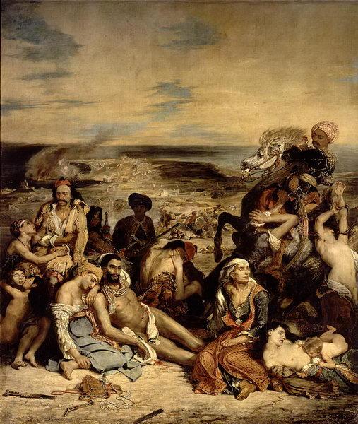O massacre de Chios (1824)