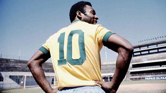 Pelé, seleção brasileira, camisa 10