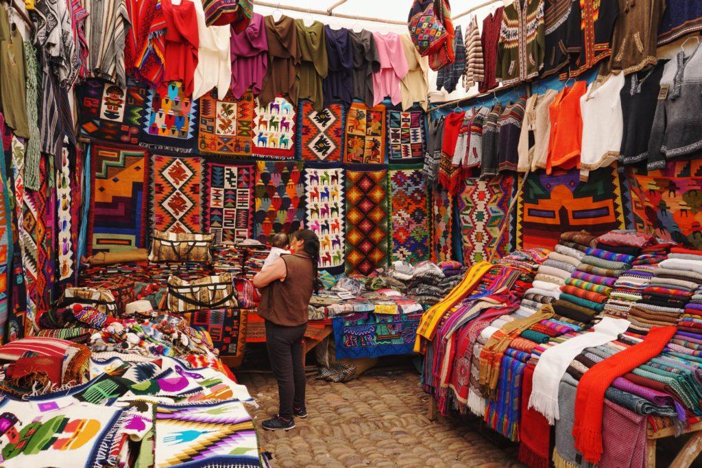 Cultura do Peru - Tecidos