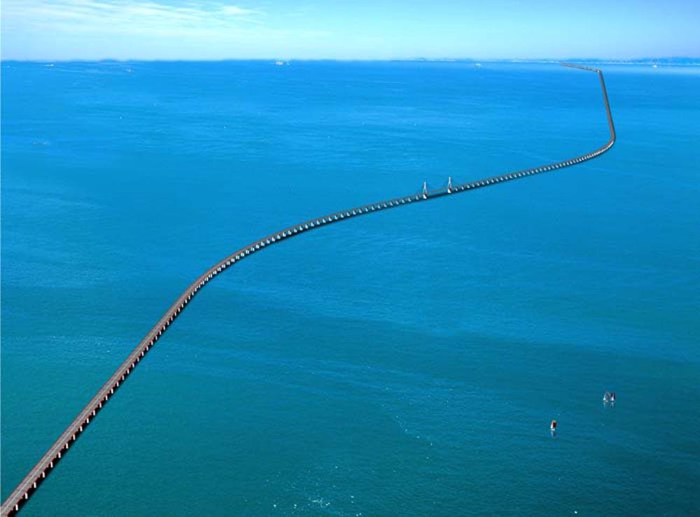 Ponte de Donghai – China