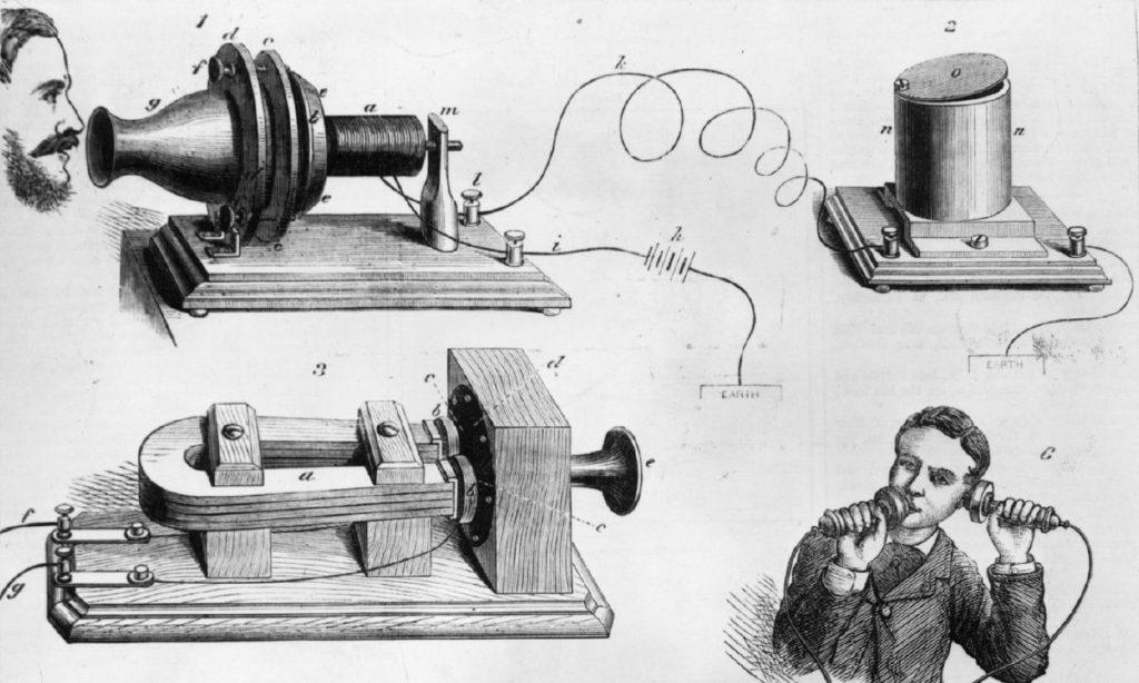 O primeiro telefone