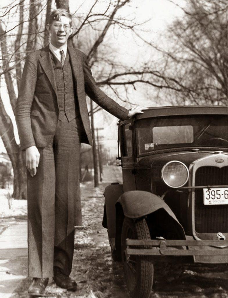 Robert Wadlow (2,72 m)