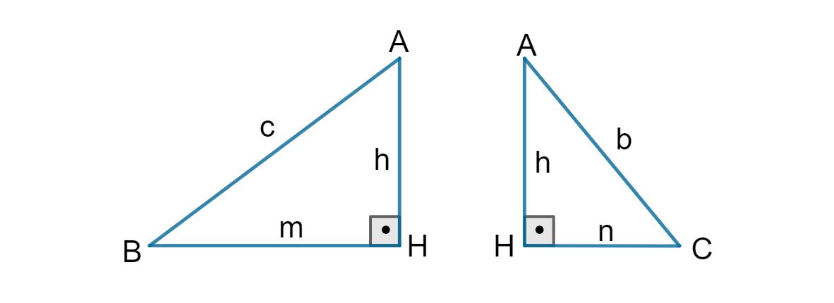 Semelhança no triângulo retângulo