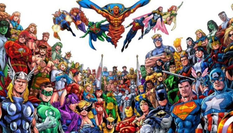 Os maiores super-heróis do mundo