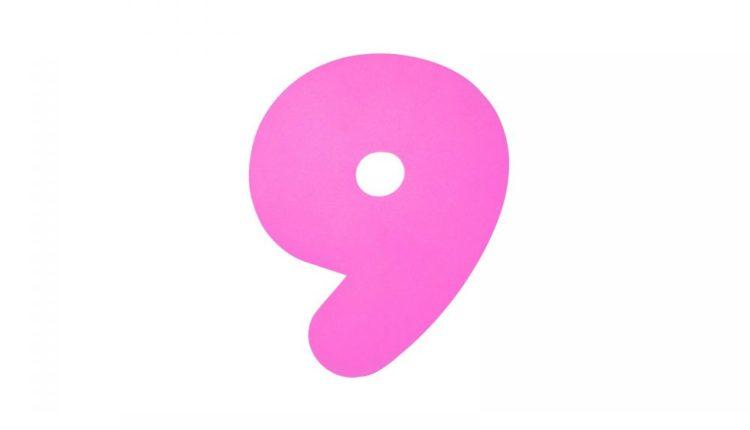 Tabuada de multiplicação do 9