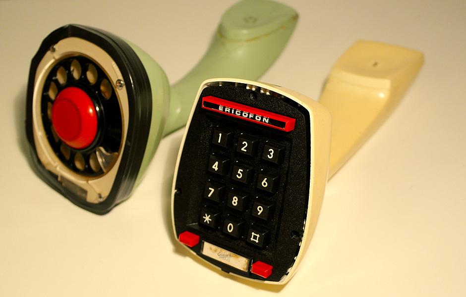 A evolução do telefone - ericofon