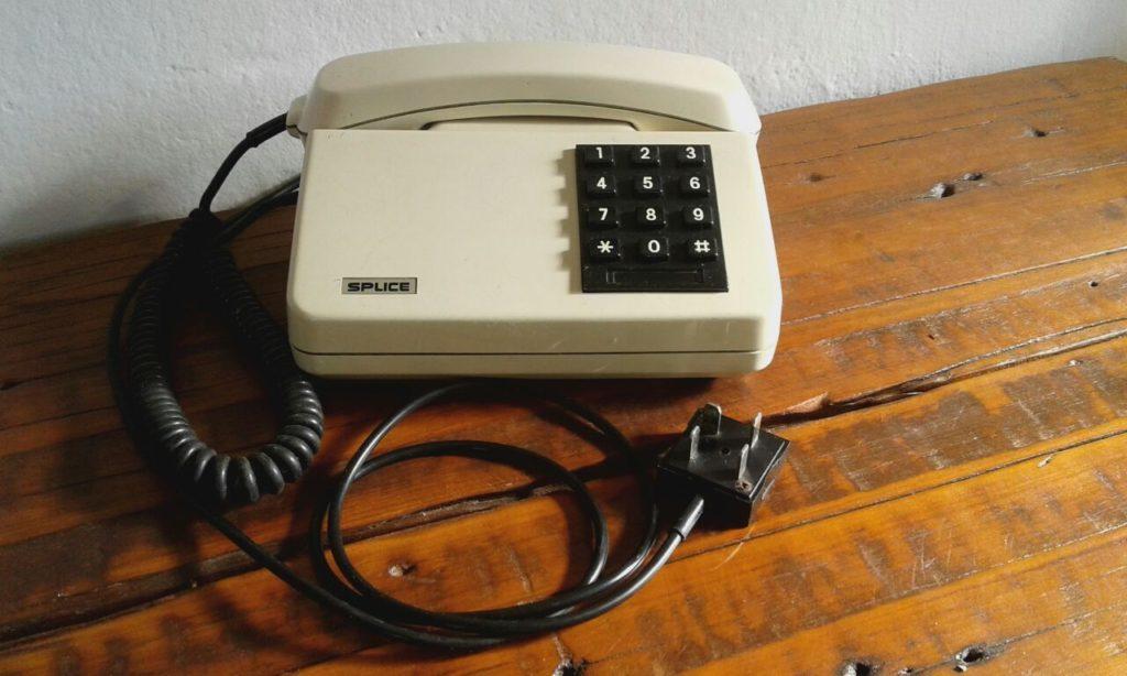 A evolução do telefone - telefone fixo em 1970