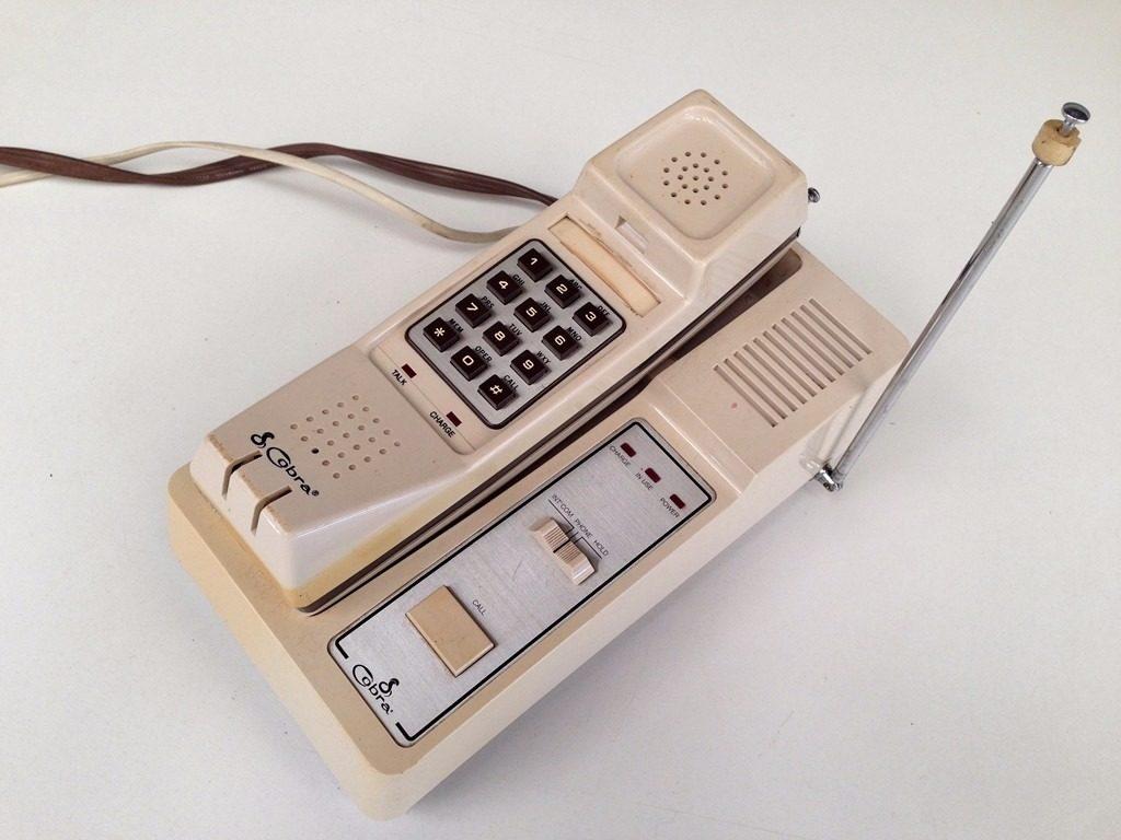 A evolução do telefone - telefone sem fio