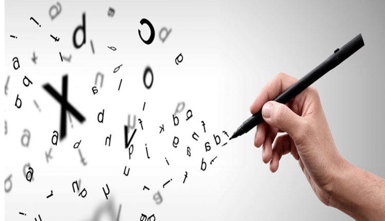 Ortografia, escrever, letras
