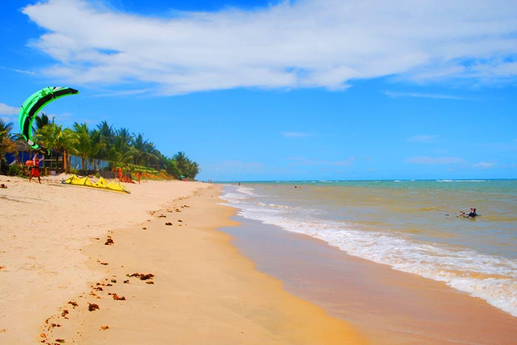 Praia de Araçaípe, Arraial d'Ajuda (BA)