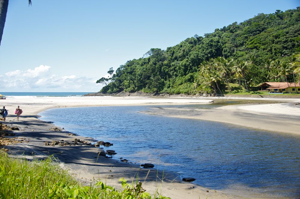 Praia de Jeribucaçu, Itacaré (BA)