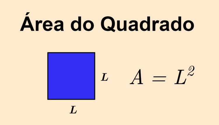 Área de um quadrado