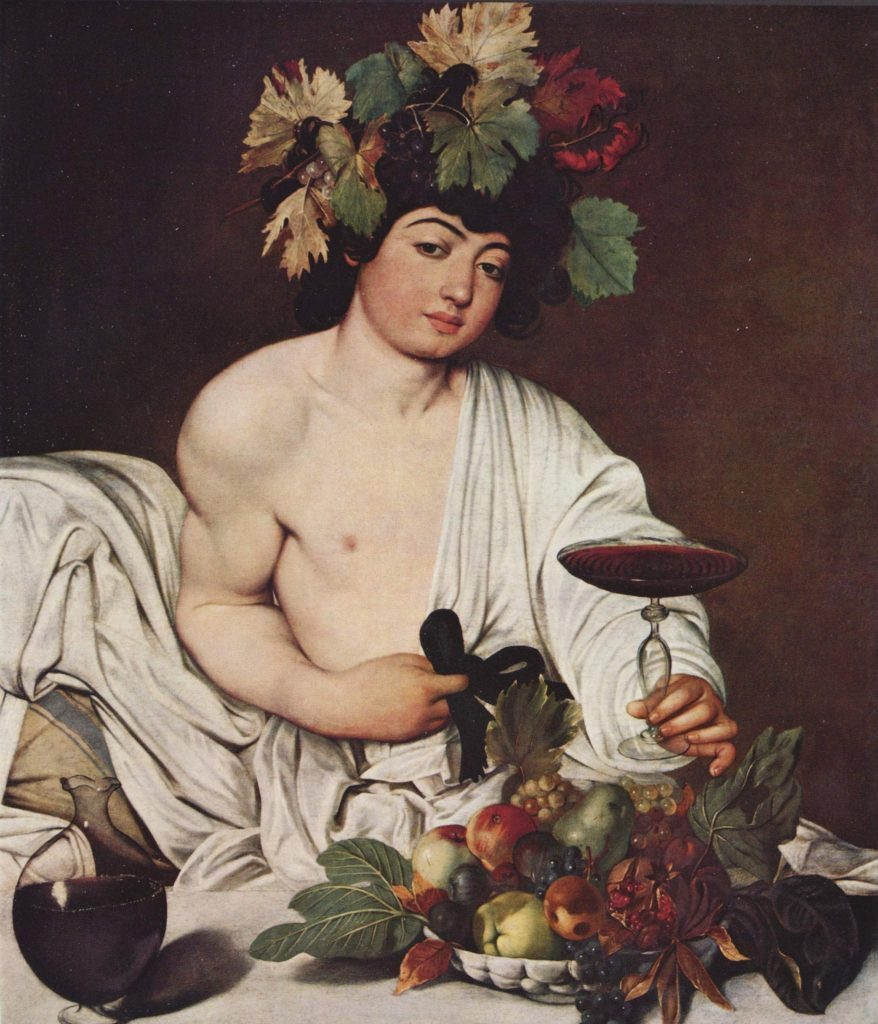 Baco e a descoberta do vinho