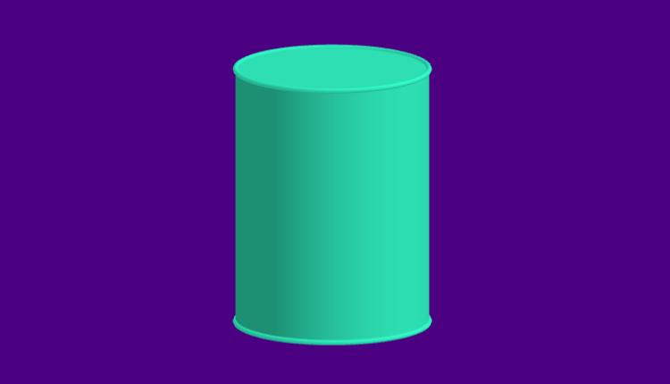 Cilindro - Área e volume