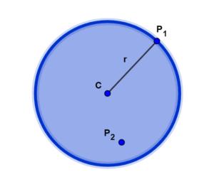 O que é um círculo