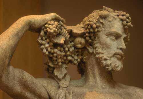 Baco, o deus do vinho na mitologia romana