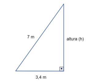 teorema de Pitágoras exercício