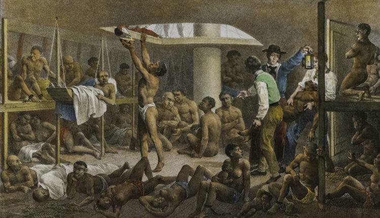 Navio Negreiro - Johann Moritz Rugendas, 1830