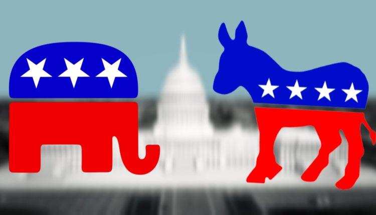 Partido Republicano e Partido Democrata dos EUA