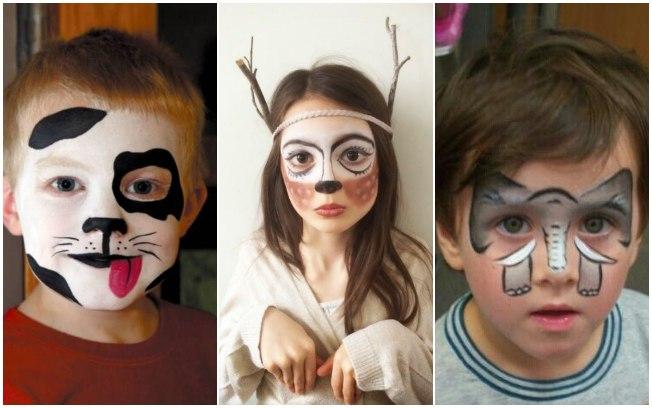 Pintura de rosto crianças3