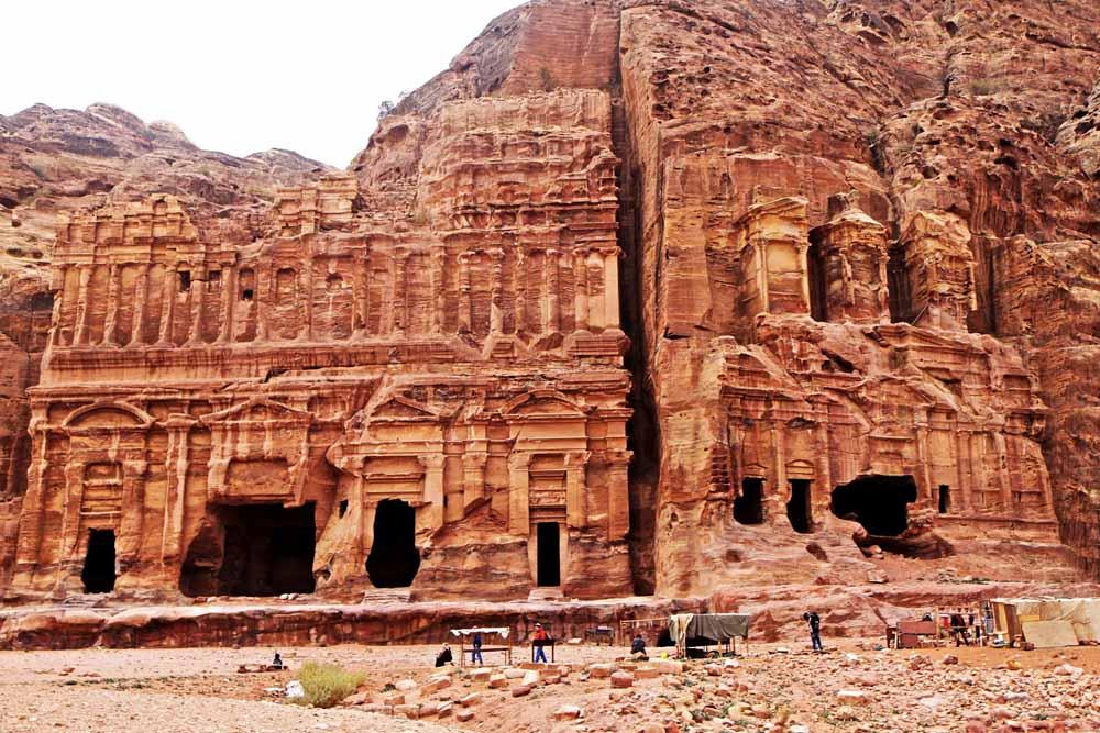 As Ruínas de Petra (Jordânia)