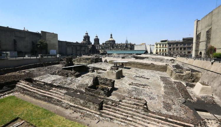 Ruínas de Templo Maior - Cidade do México