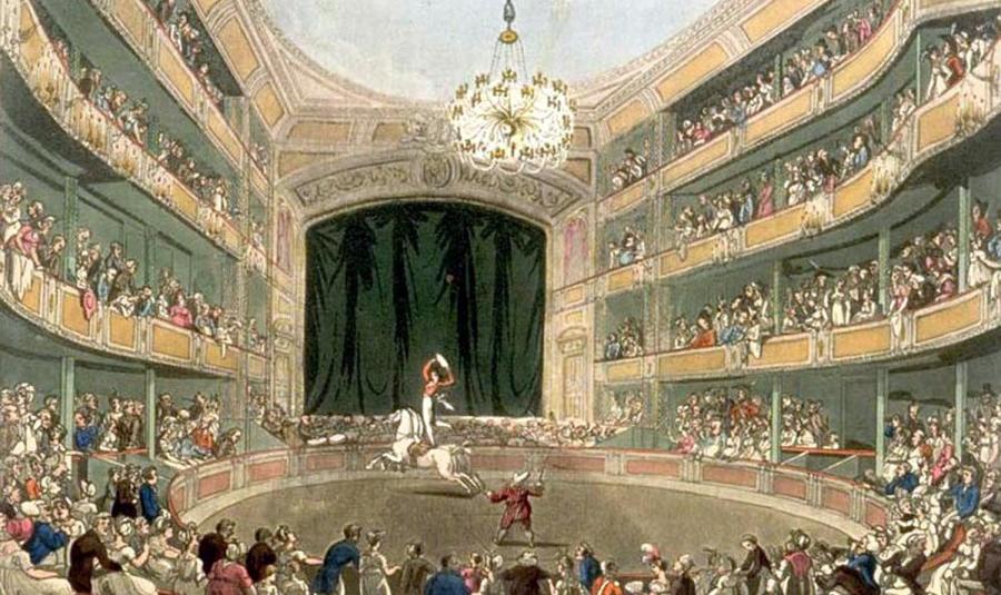 Philiph Astley e o circo moderno
