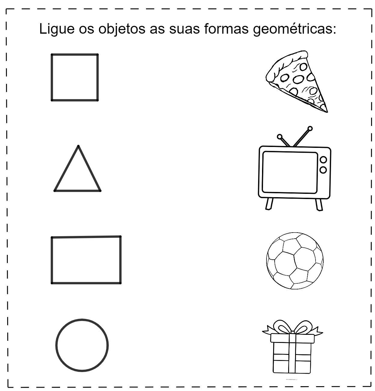 Atividades para classificar formas geométricas