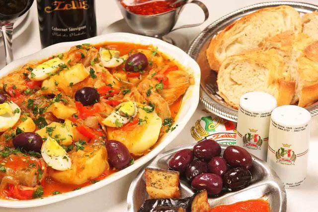 Ideias de almoço para a páscoa - bacalhau ao forno