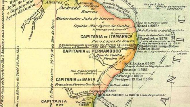 Capitanias hereditárias do Brasil