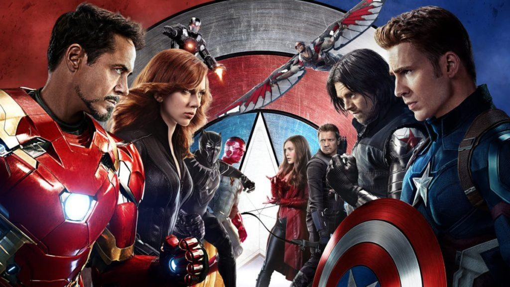 2016 – Capitão América: Guerra Civil