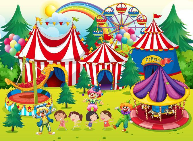 Roda de conversa sobre o circo