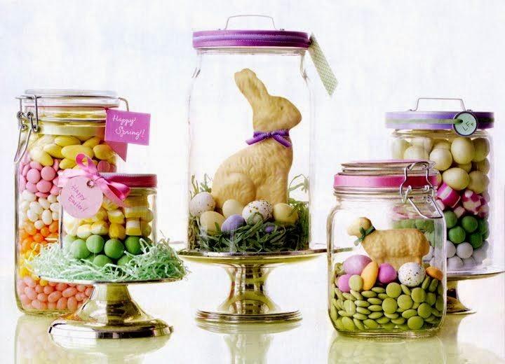 Ideias de decoração de páscoa - Guloseimas