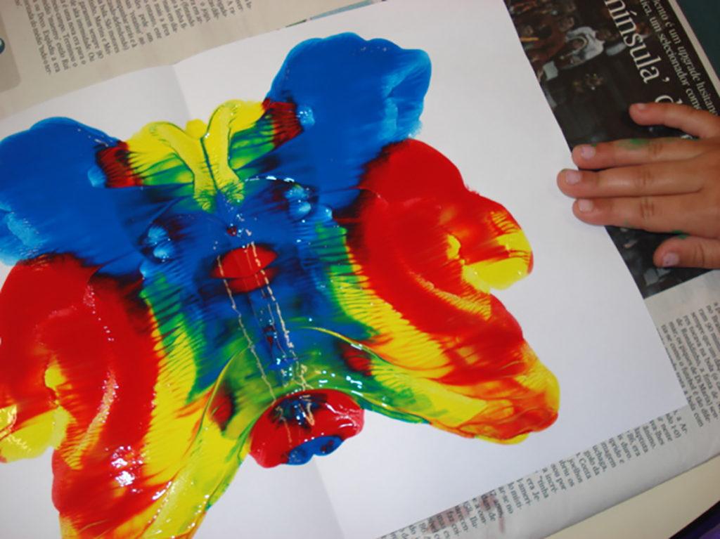 Plano de aula - Metamorfose - Borboleta com tinta guache