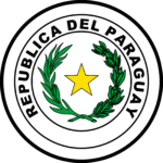 Emblema anverso bandeira do Paraguai