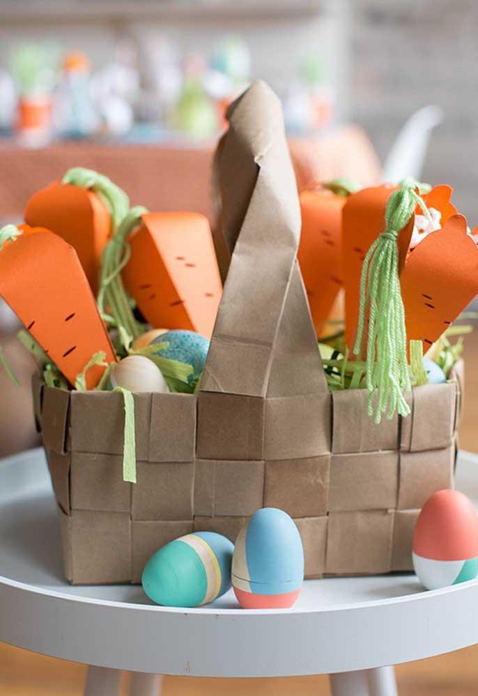 Ideias de lembrancinha de páscoa - cenouras