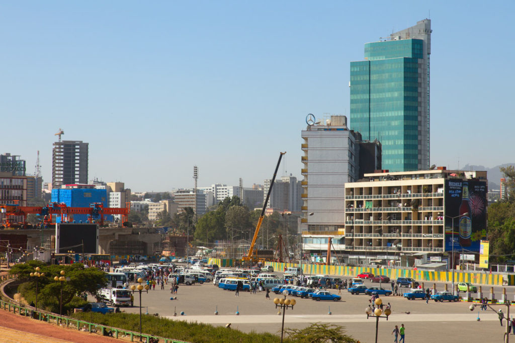 Adis Abeba, capital da Etiópia