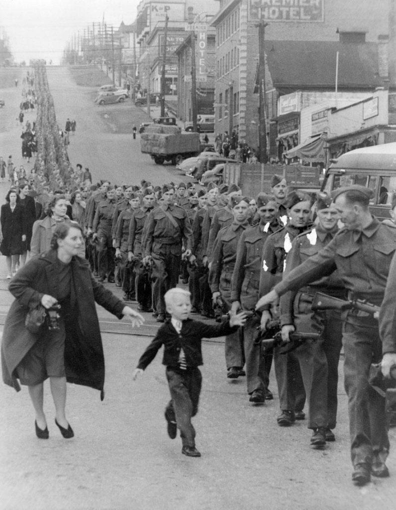 O último contato antes da guerra