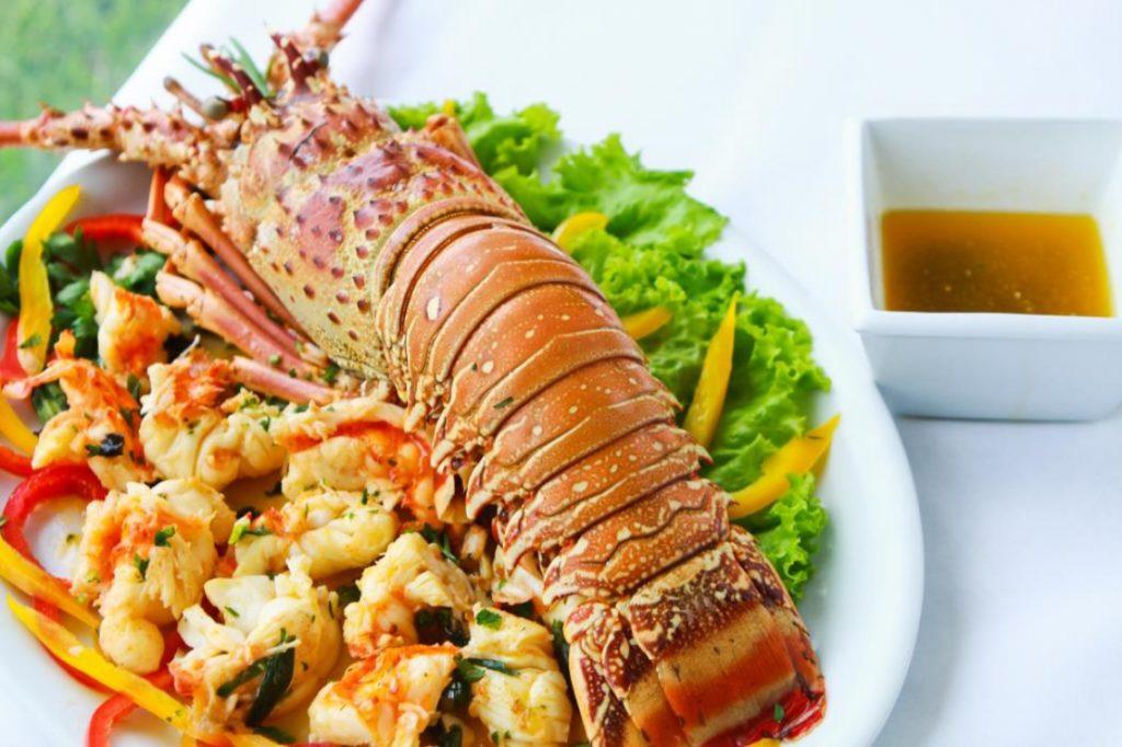 Comida com L - Lagosta