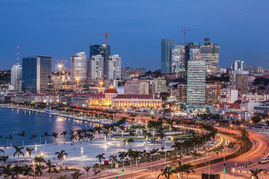 Luanda, capital da Angola