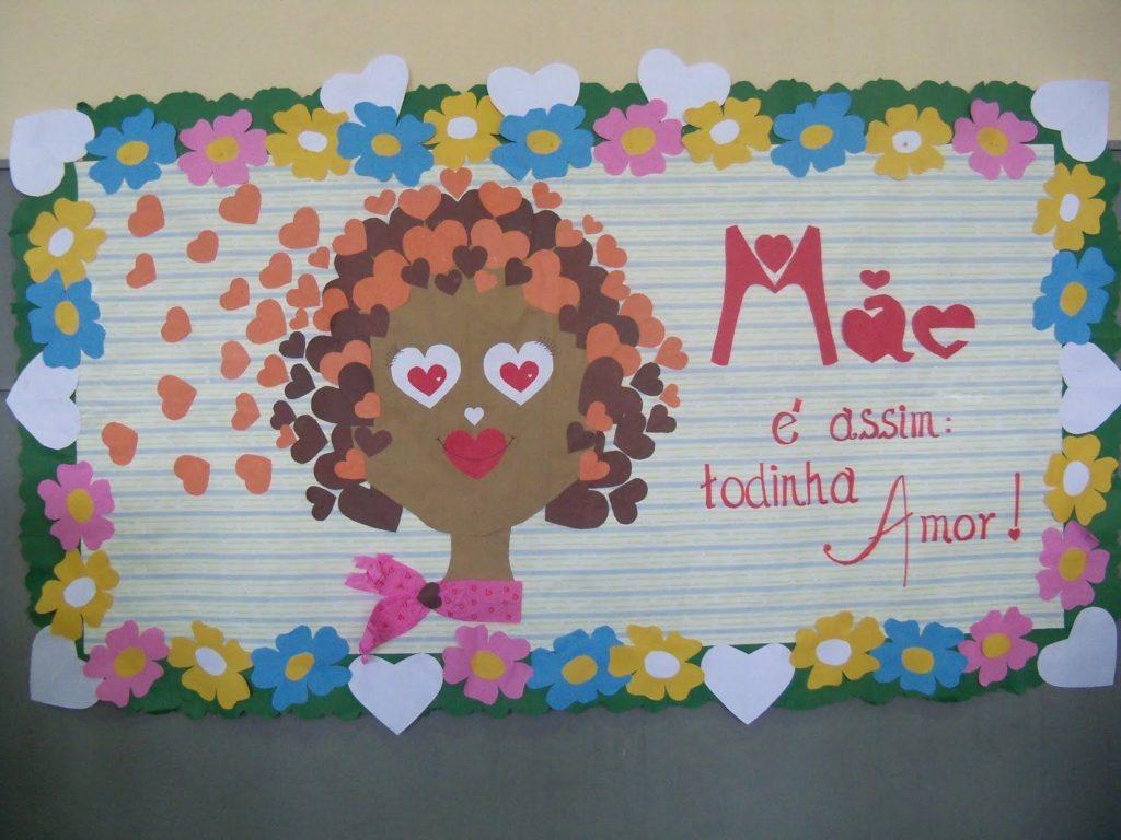 Mural do dia das mães